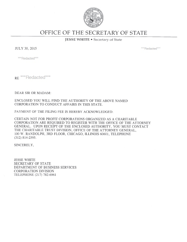Illinois Certificate Of Authority Harbor Compliance
