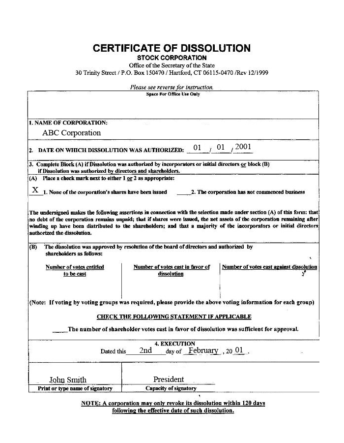 Dissolve LLC | Dissolve Corporation | Harbor Compliance