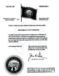 Nebraska certificate of good standing, Nebraska certificate of existence, Nebraska certificate of status, Nebraska