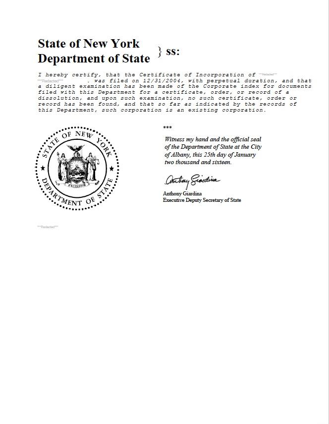 New york certificate of good standing certificate of status new york certificate of good standing new york certificate of existence new york certificate yadclub Images