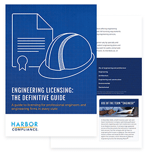 Download our Definitive Engineering Licensing guide