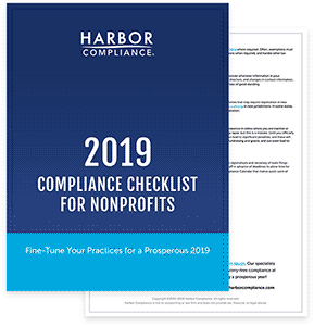 Download our 2019 Compliance Checklist for Nonprofits