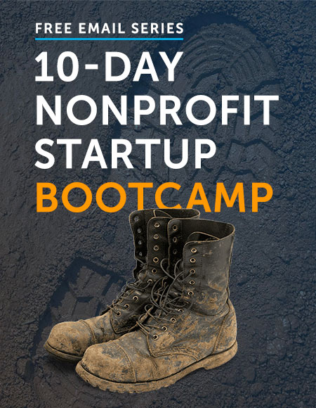 Nonprofit Startup Bootcamp Email Series