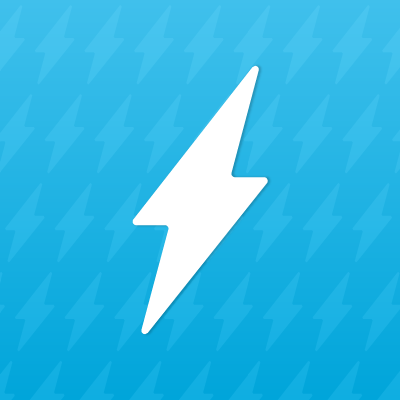 An icon of a lightning bolt