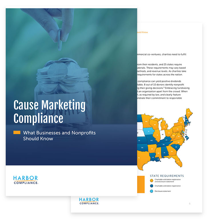 "A preview of our ""Cause Marketing Compliance: What Businesses and      Nonprofits Should Know"" white paper"