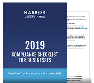 2019 Business Compliance Checklist white paper