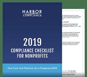 2019 Nonprofit Compliance Checklist white paper