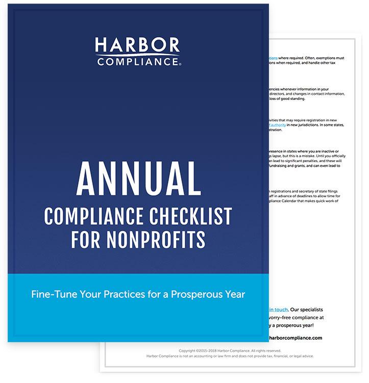Annual Compliance Checklist for Nonprofits
