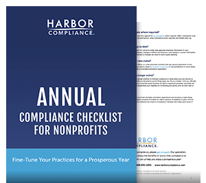 Annual Nonprofit Compliance Checklist white paper