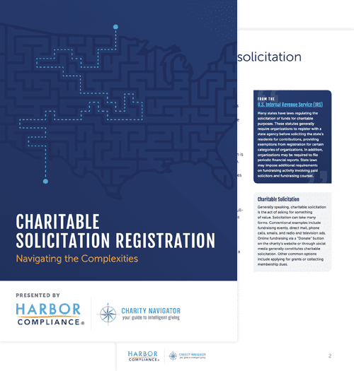 Our Charitable Solicitatioin Registration white paper