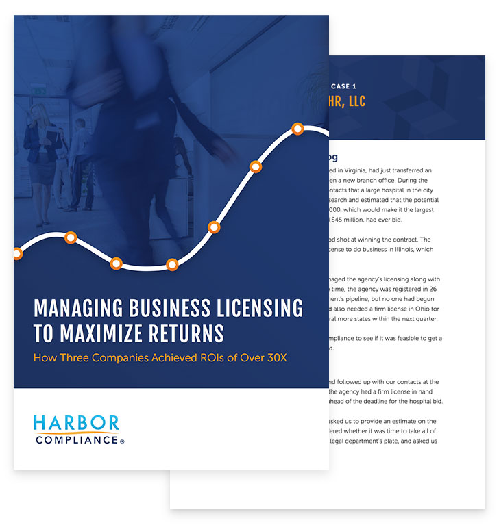Managing Business Licensing to Maximize Returns white paper