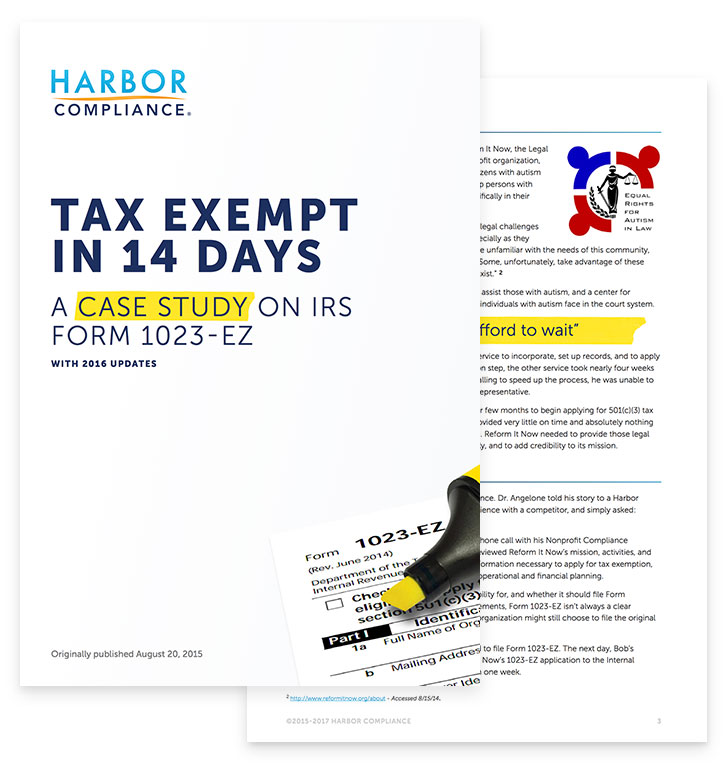 Tax Exempt in 14 Days white paper