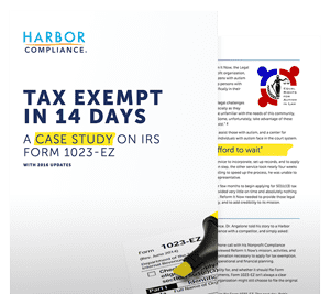 Our Tax Exempt In 14 Days white paper