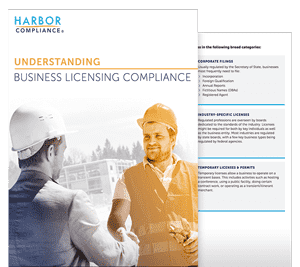 Our Understanding Business Licensing Compliance white paper