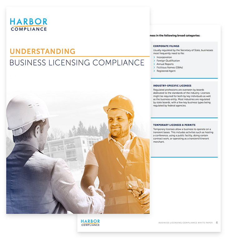 Understanding Business Licensing Compliance white paper