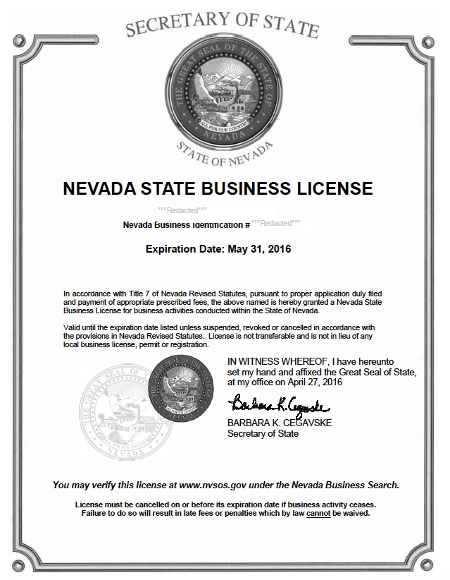 Reinstate Nevada Corporation LLC Nonprofit | Harbor Cpliance